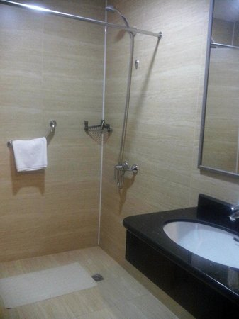Miran International Hotel : shower