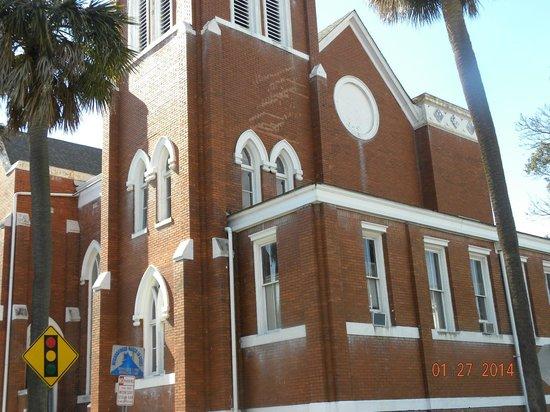 Savannah Historic District : Edificios antiguos