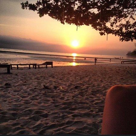 At Beach Bed & Bar: Sunset