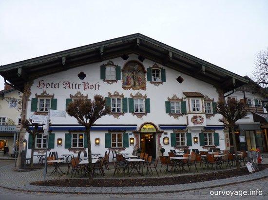 Oberammergauer Kirche: сказочный дом