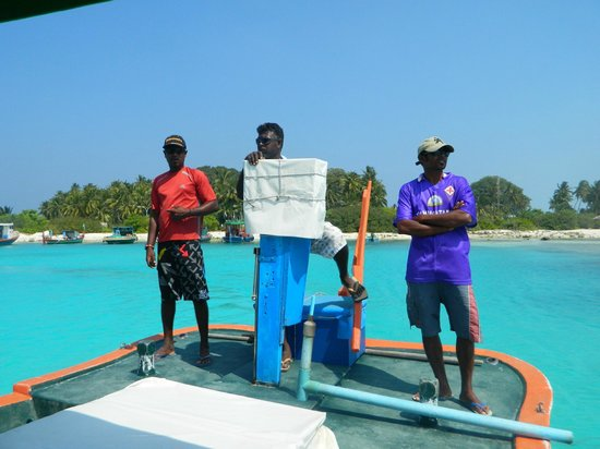 Maldive Due Palme : il grande staff Idrees, Alibè, sunja