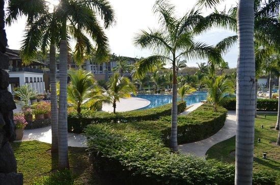 JW Marriott Guanacaste Resort & Spa : View of Pool area from 2nd floor room