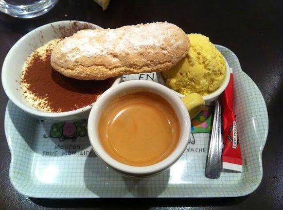 L'Atelier du dejeuner : Café gourmand de l'Atelier