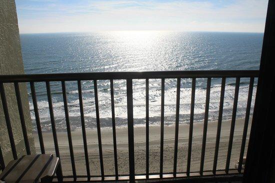Sea Crest Oceanfront Resort: Oceanfront balcony view 1529