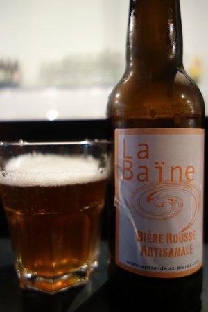 West Coast Gourmet Burgers: bière(Local Beer)
