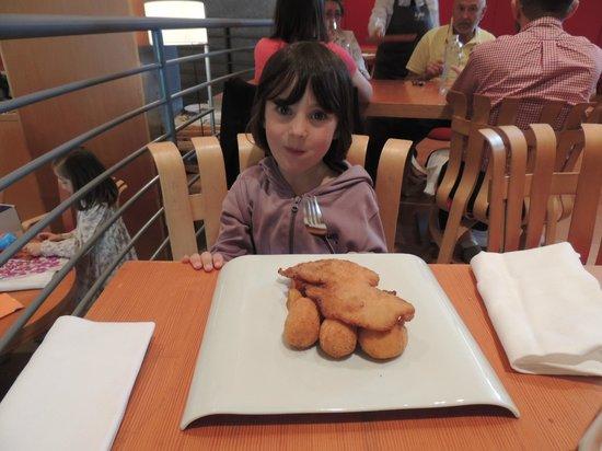 Bistró Guggenheim Bilbao: Menu enfant