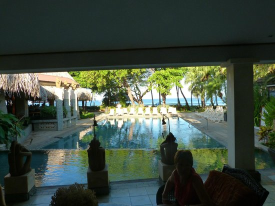 Hotel Tamarindo Diria Beach Resort: hall de l hotel