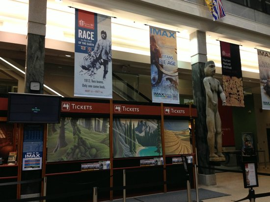 IMAX Victoria In the Royal BC Museum: Indoor Display