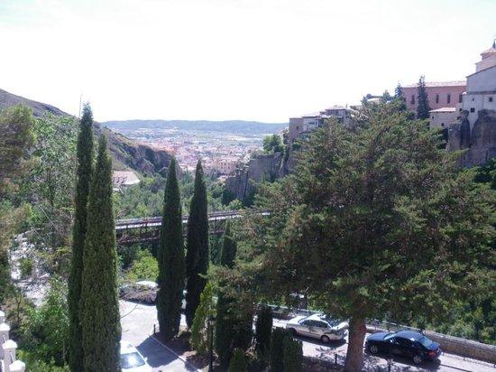 Parador de Cuenca: vista desde la habitacion