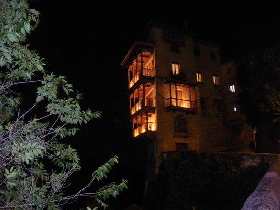 Parador de Cuenca : desde la habitacion por la noche las vistas