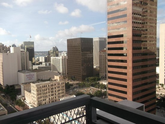 Kimpton Hotel Palomar San Diego : View from 1701 - 17th floor loft apartment