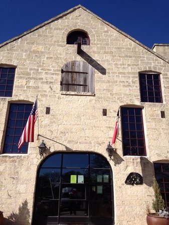 Texas Wine Tours: First stop of the day- Becker