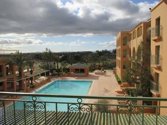 Alhambra Thalasso Hotel: vue du balcon