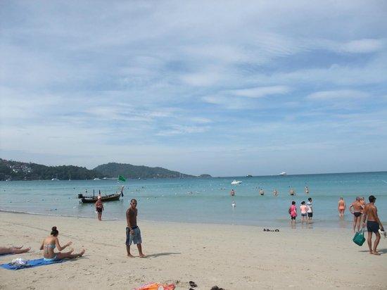 Patong Beach: Vista della spiaggia
