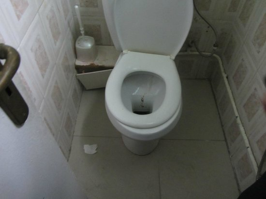 Hotel l'Oasis Gabes : WC cafe 2