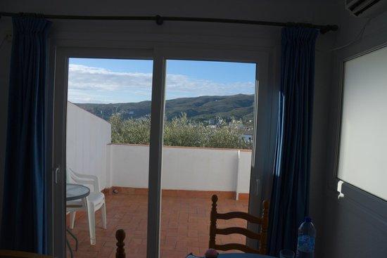 Carpe Diem Cadaqués: Vista terraza a la bahía de Cadaqués