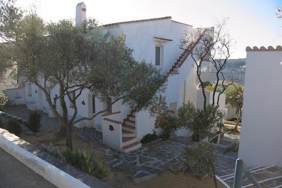 Carpe Diem Cadaqués: Acceso terrado apartamento superior