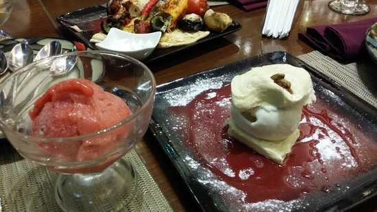 Ice Cream Picture Of Yasmina Lebanese Cuisine Accra Tripadvisor