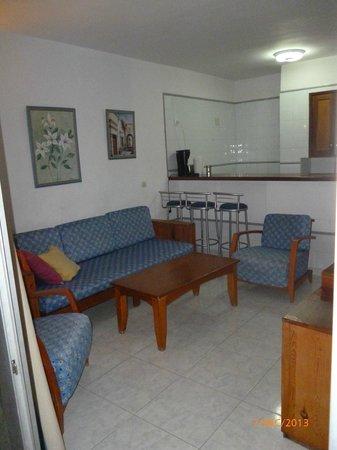 Apartamentos Montemar: Living area