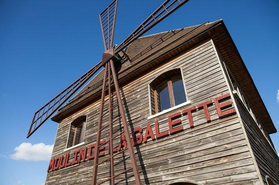Le Moulin de la Galette: Le Moulin de jour