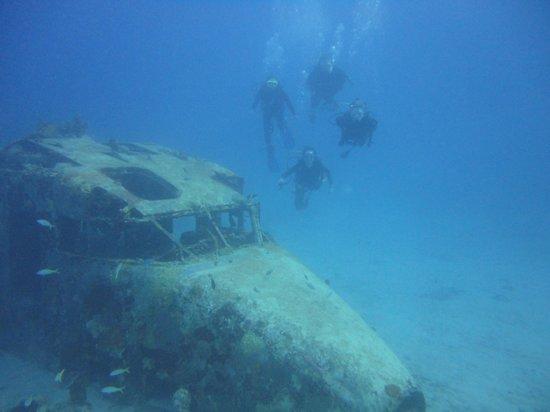 Sunchaser Scuba Ltd.: Family Dive at the Sunken Plane Wreck