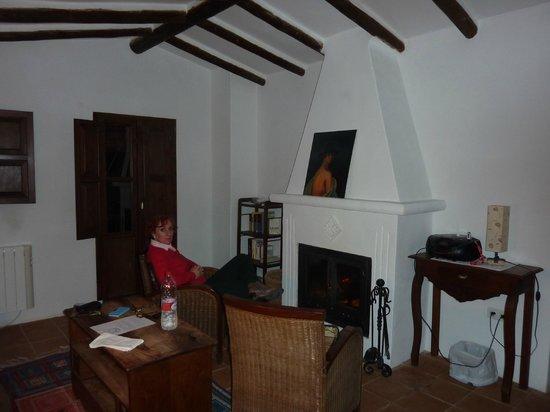 Cortijo La Fe: salon de la suite