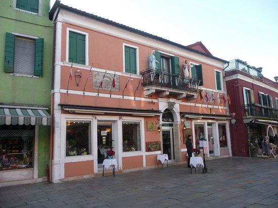 Restaurant Galuppi : Ristorante Galuppi, Burano, Venise, Italie