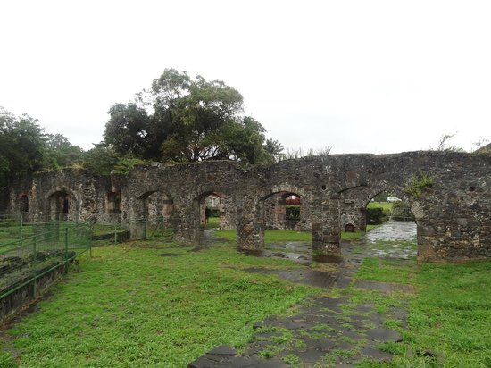 Habitation Fonds Saint-Jacques: ruine fonds st jacques