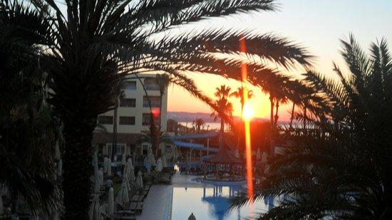Hotel Paradis Palace : vue de ma chambre