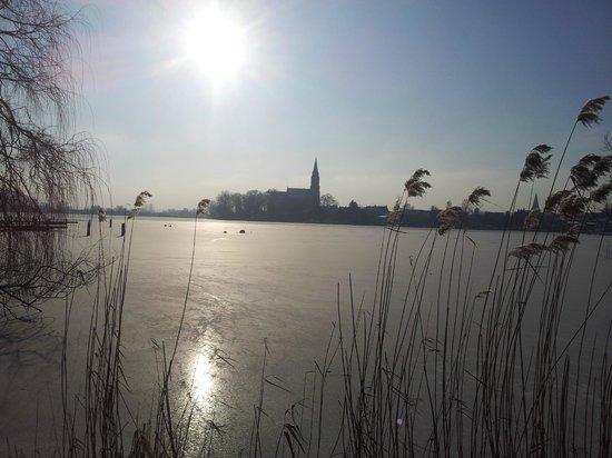Kleines Meer: Winterimpressionen in Röbeln