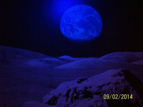 Nehru Planetarium: Moon