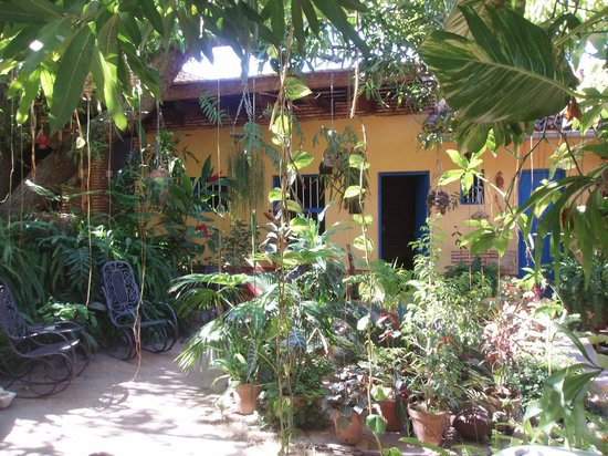 Hostal Casa Colonial el Patio: La chambre face au jardin...