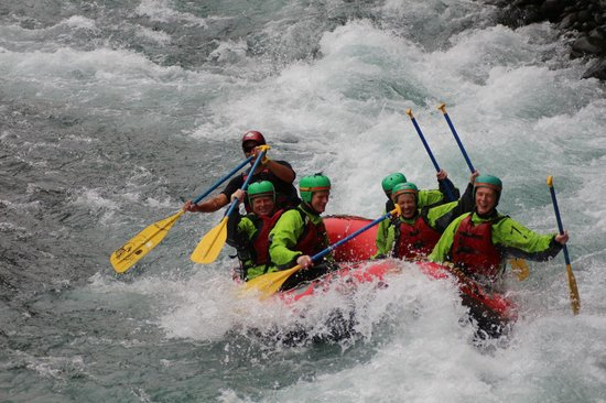 Rafting New Zealand: rafting Tongariro