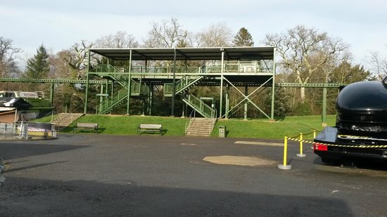 Beaulieu National Motor Museum : One of the monorail stations