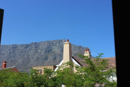 An African Villa: Table Mountain as seen from our lovely room