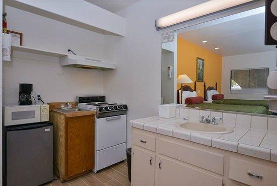 Americas Best Value Inn & Suites: Kitchenette
