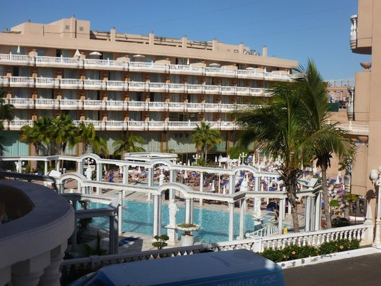 Cleopatra Palace Hotel: From our Balcony