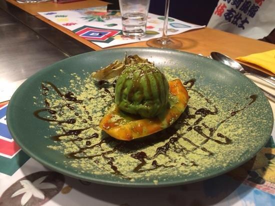 Kabuki Frankfurt: Desert Papaya, flambiert