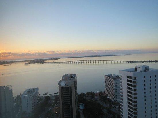 Four Seasons Hotel Miami : bay veiw