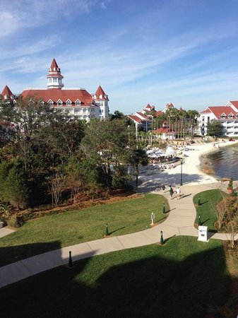 Disney's Grand Floridian Resort & Spa: VIew from balcony