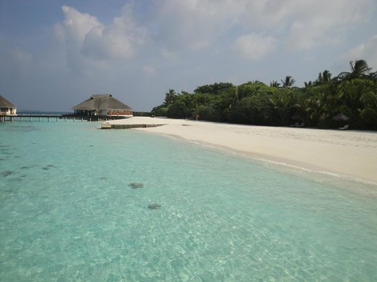 Adaaran Prestige Water Villas: Beautiful beach!