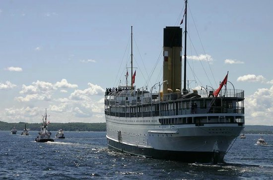 The SS Keewatin: Stately view.2013