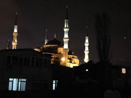 Dersaadet Hotel Istanbul: View from top floor of Dersaadet Hotel