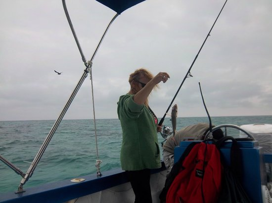 Caribbean Villas Hotel: Fishing trip