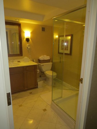 Beau Rivage Resort & Casino Biloxi: Hot showers on demand!