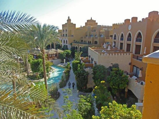 Sunwing Waterworld Makadi Hotel: Biick vom Zimmerbalkon
