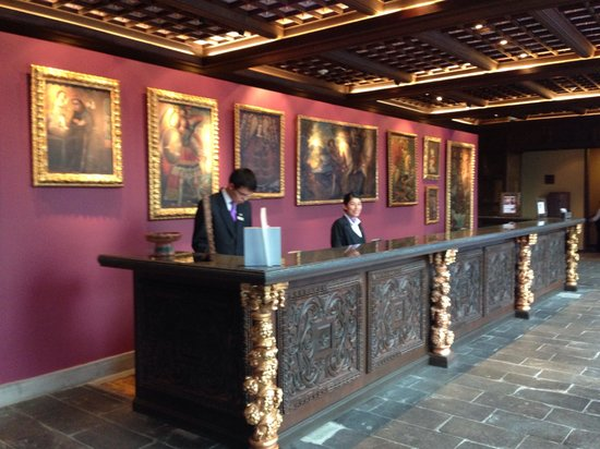 Front desk. - Picture of Palacio del Inka, a Luxury ...