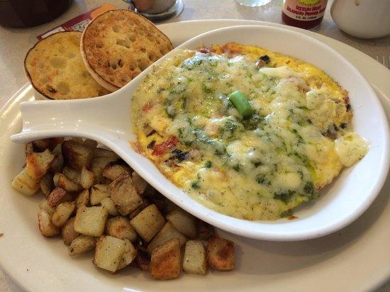 The Egg and I: Greek frittata, Delishhh!!!