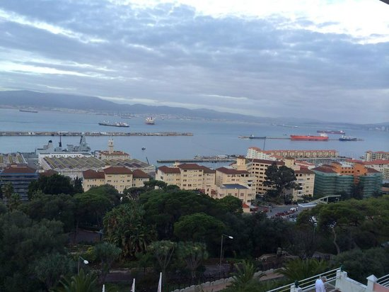 Rock Hotel Gibraltar: View from room