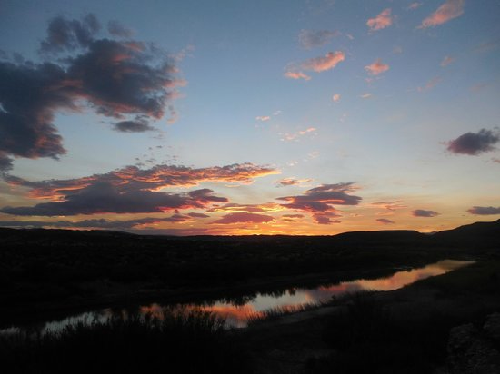 Chisos Mountains Lodge: Rio Grande Sunset